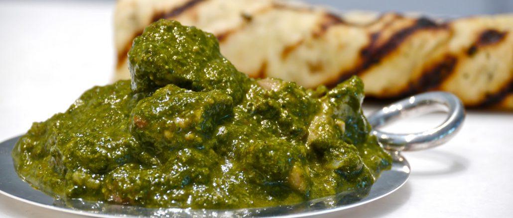 Lamb in spinach curry recipe