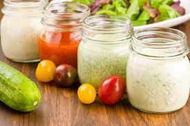 Easy Homemade Salad Dressings