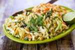 Vietnamese cabbage salad chicken