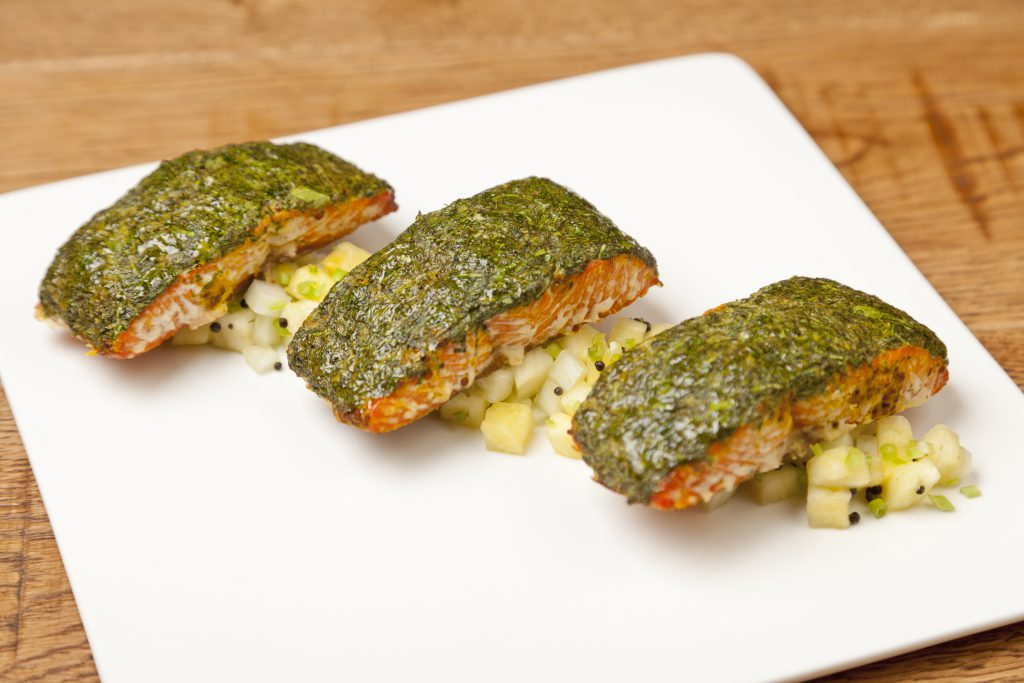 crusted salmon recipes baked