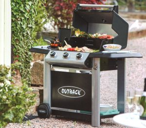 Built Gas Barbecue Grill