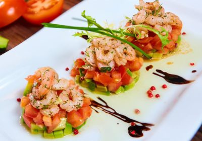 simple prawn salad recipe